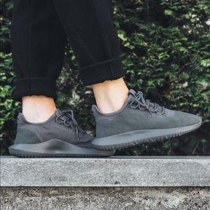 Adidas women's tubular shadow grey size 7